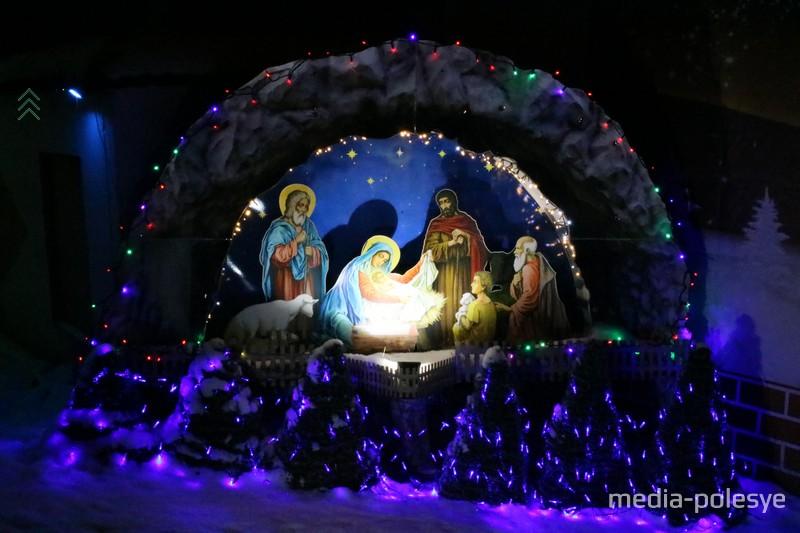 """Композиция """"Рождение Христа"""""""