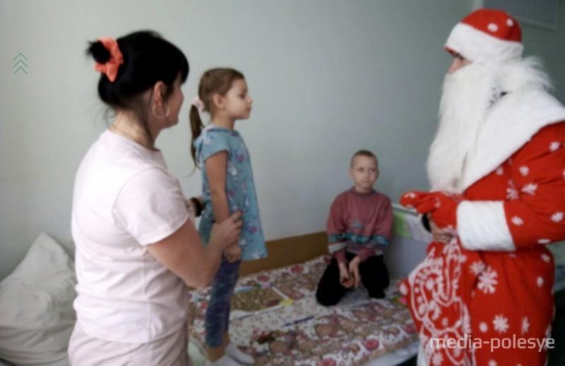 Стишок Деду Морозу – даже в больнице