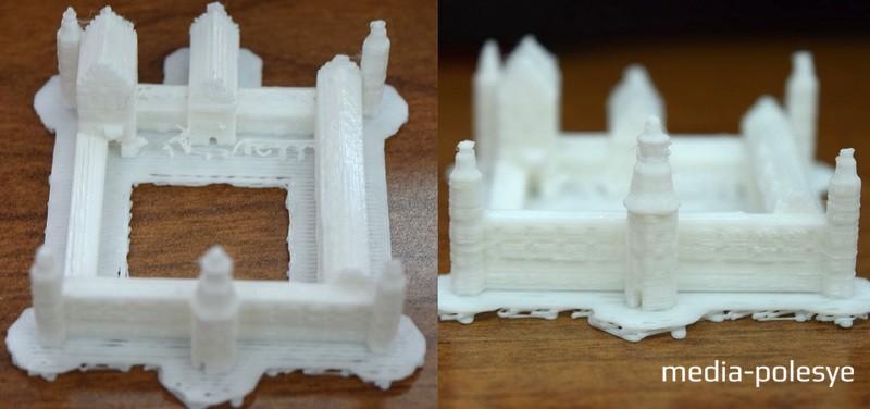 3D-макет замка