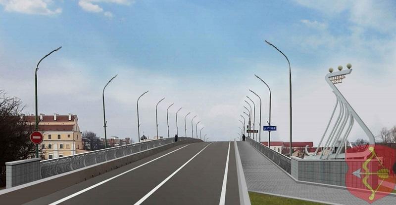 Вид на мост со столинского направления