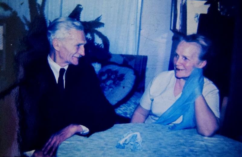 Фёдор Лавров с супругой в последние годы жизни в подмосковном Архангельском