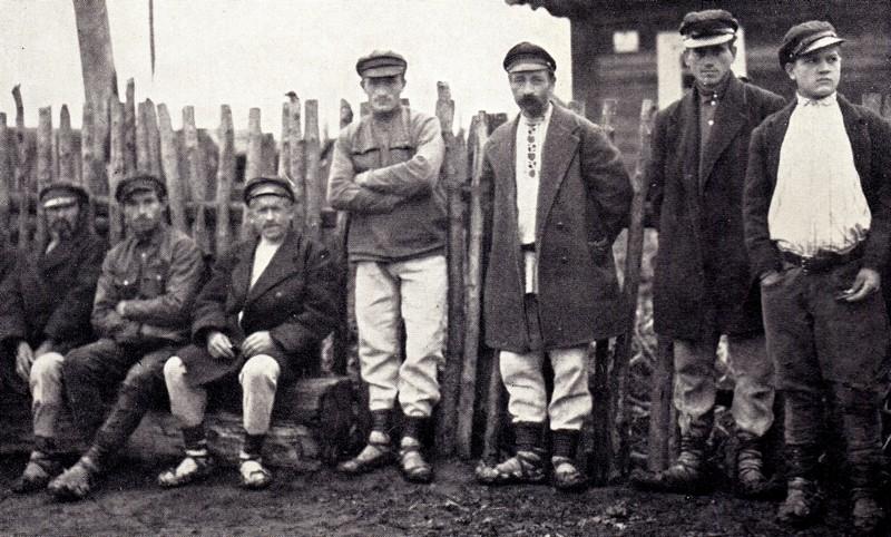 Полесские мужики, 1934 год, Луиза Арнер Бойд
