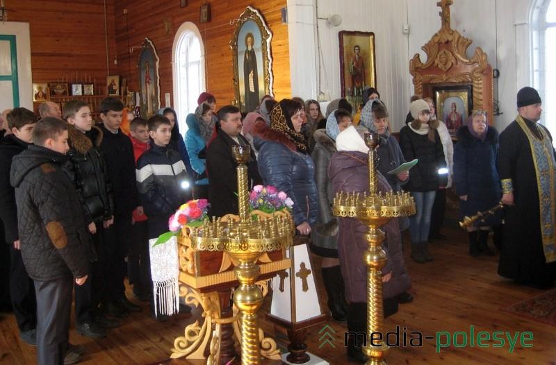 Лития по погибшим в храме Покрова Богородицы