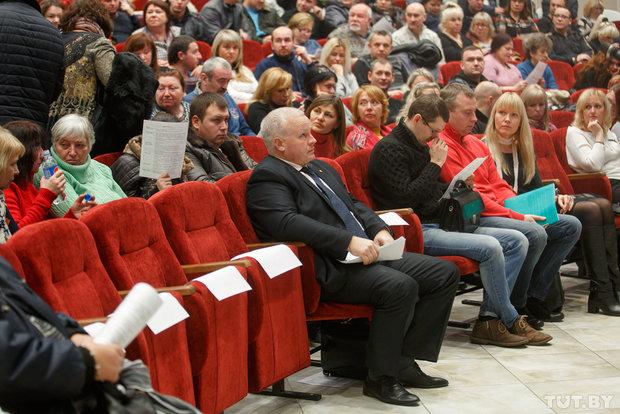 Андрей Мешков в первом ряду