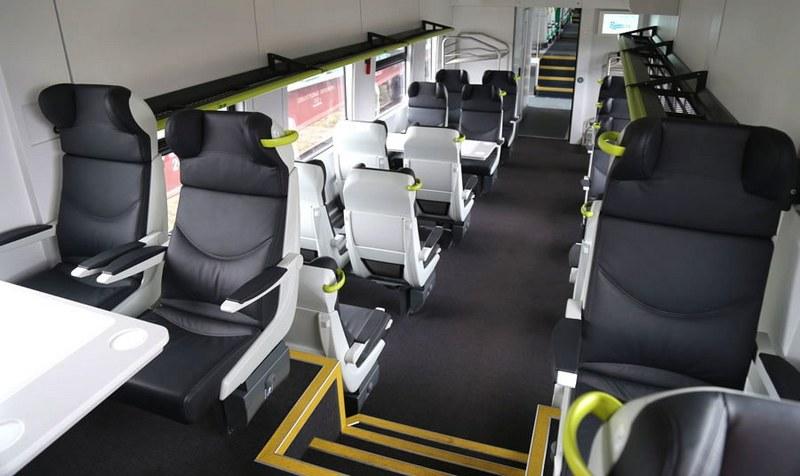 С августа из Пинска в Минск можно будет доехать на межрегиональном поезде бизнес-класса PESA
