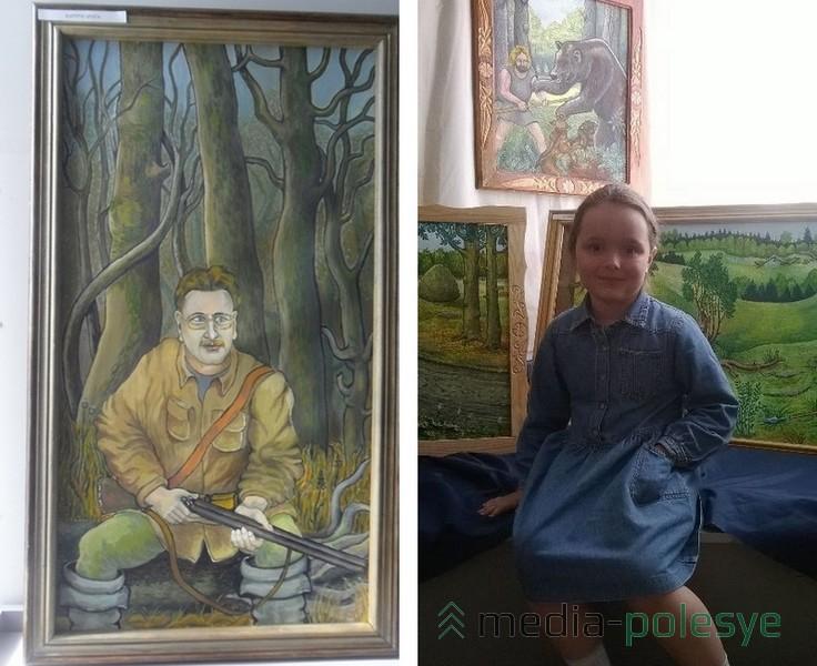 Портрет брата Евгения. Внучка Валентина Мурко Злата
