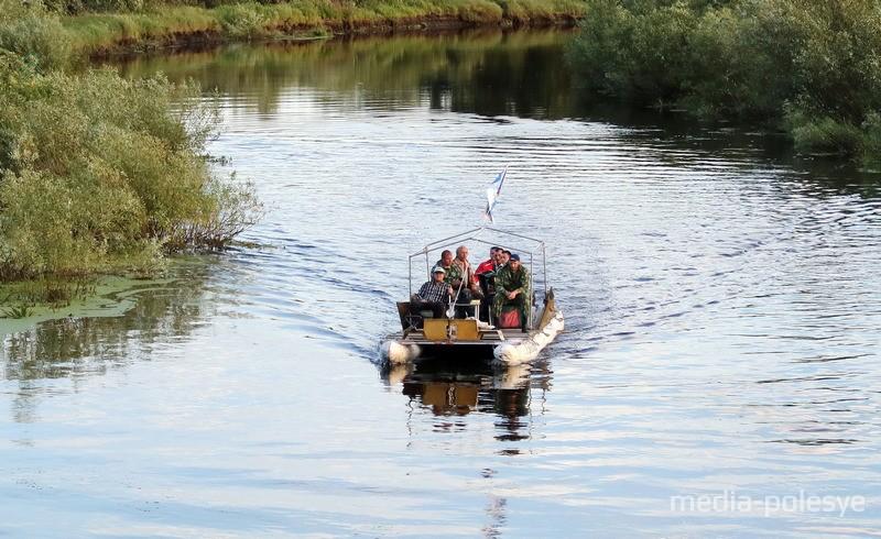 На реке Стыр