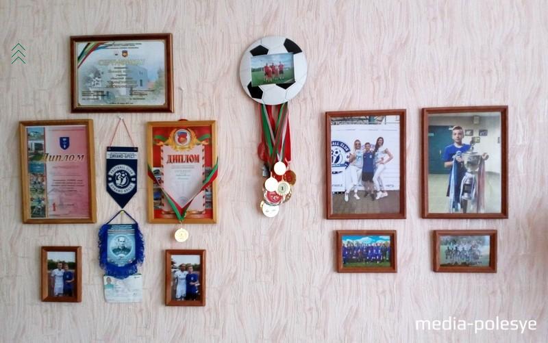 Дипломы и медали внука