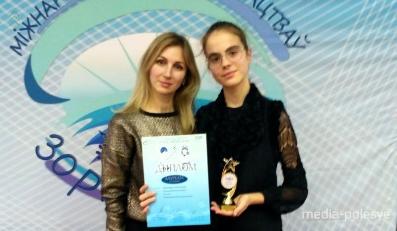 Нина Войтеховская и её талантливая ученица Анастасия Тарасевич