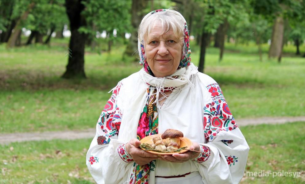 Олимпиада Леоновец и ее «никольские» боровики