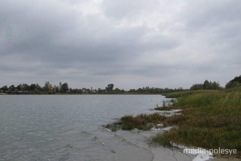 Акватория озера Городищенское. Сентябрь 2018 г