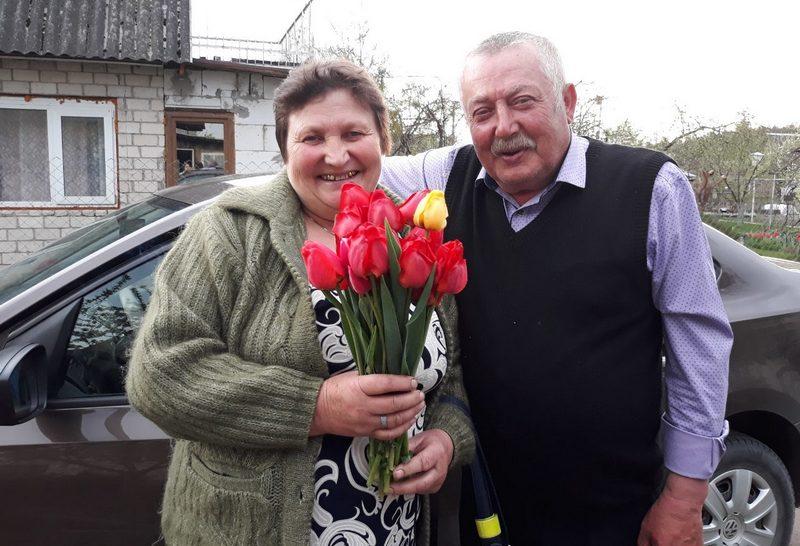 Тамара Васильевна с супругом