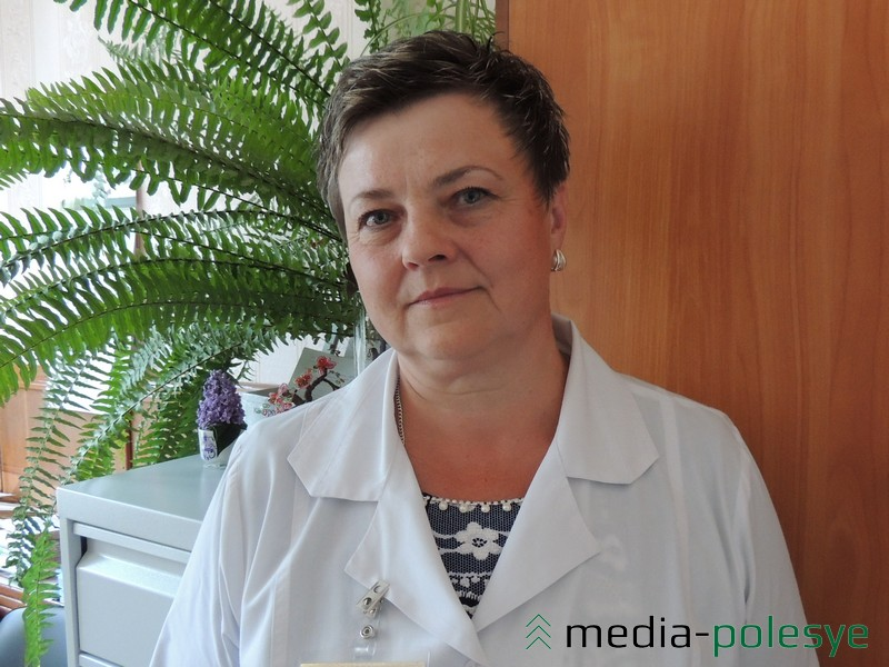 Заведующая педиатрическим отделением поликлиники Столинской ЦРБ Светлана Ростиславовна Матвейчик