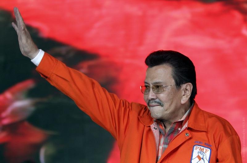Джозеф Эстрада. Фото: Reuters