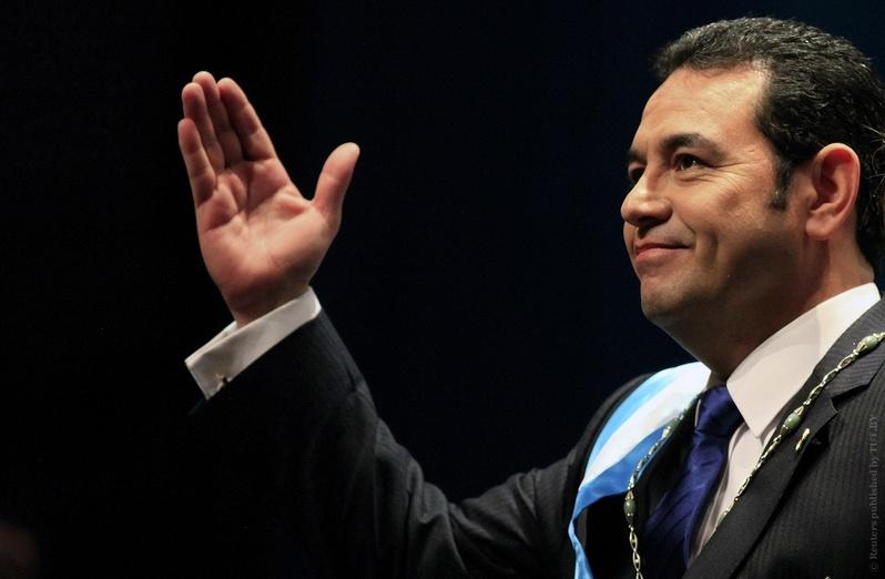 Джимми Моралес. Фото: Reuters