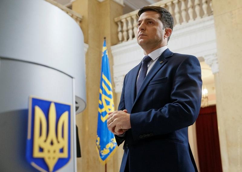 Владимир Зеленский на съемках сериала «Слуга народа». Фото: Reuters