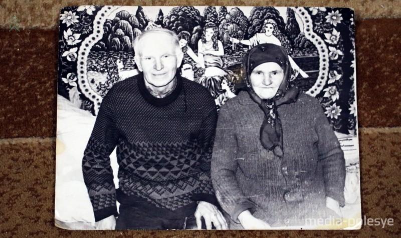 Ольга Климовна с мужем Мартином Яковлевичем