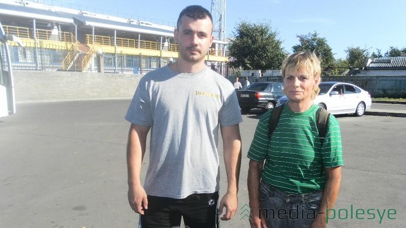 Теннисисты Александр Васьковец и Тамара Старостина