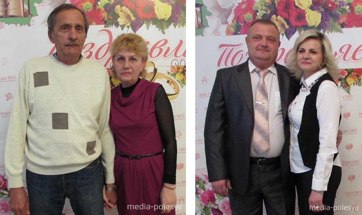 Анна и Сергей Сокол.  Игорь и Зарина Попко