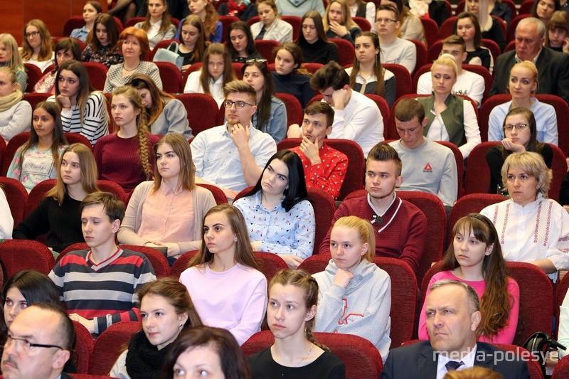 Студенты ПолесГу на встрече с Анатолием Лисом
