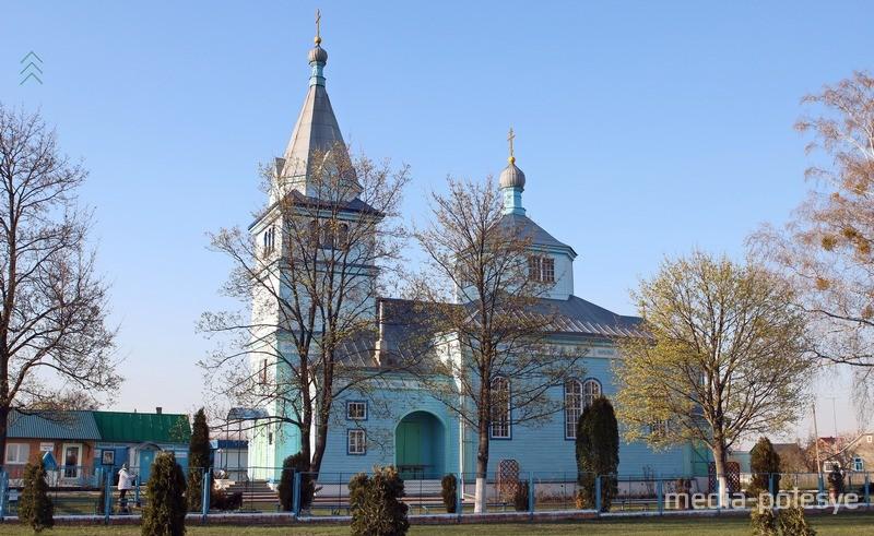 Свято-Вознесенская церковь в Столине