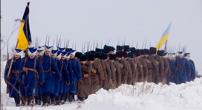 Реконструкция. Зимний поход армии УНР против большевиков