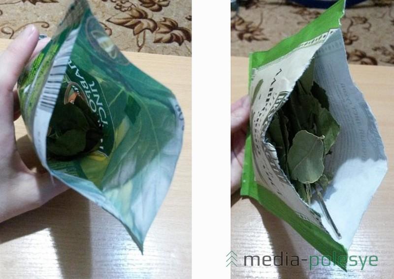 Первое фото – украинская пачка, второе фото – российская. В российской упаковке лаврового листа намного больше