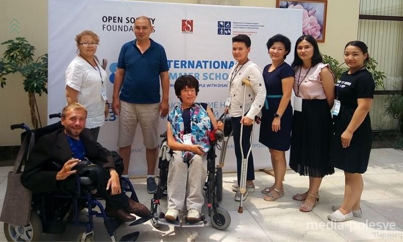 Валерий на семинаре в Казахстане