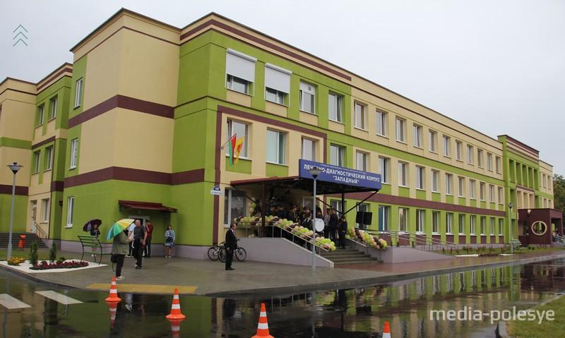 Новая поликлиника по адресу Брестская, 108