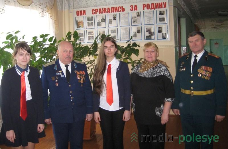 В школе деревни Большие Чучевичи