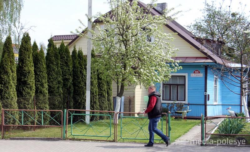В этом доме после войны был партизанский штаб