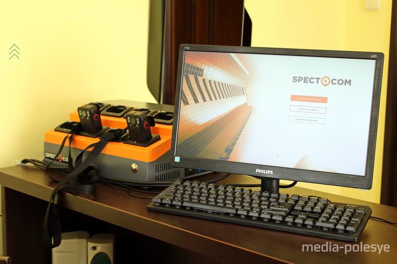 Вся информация с видеорегистраторов переносится в компьютер и хранится
