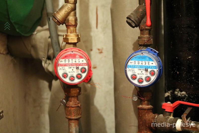 Индивидуальные приборы учёта расхода воды