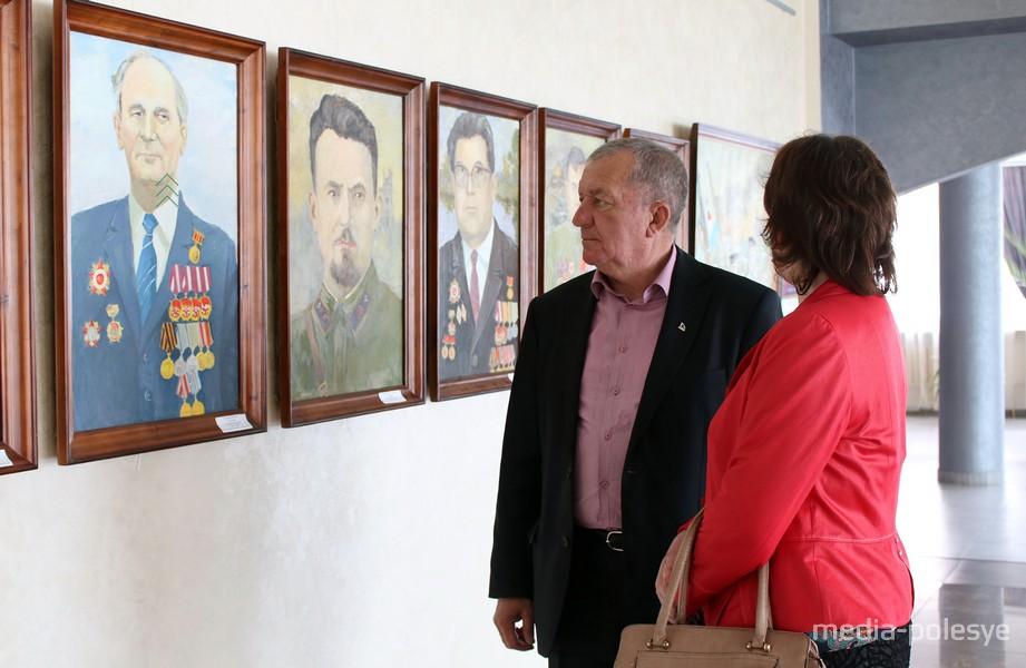Солдаты Победы в портретах работы Николая Козловского