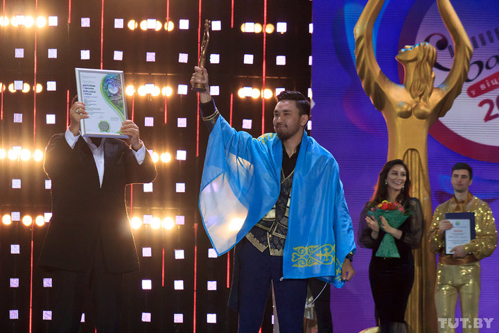 Аmre (Ернар Садирбаев) из Казахстана получил первую премию конкурса «Витебск-2018»