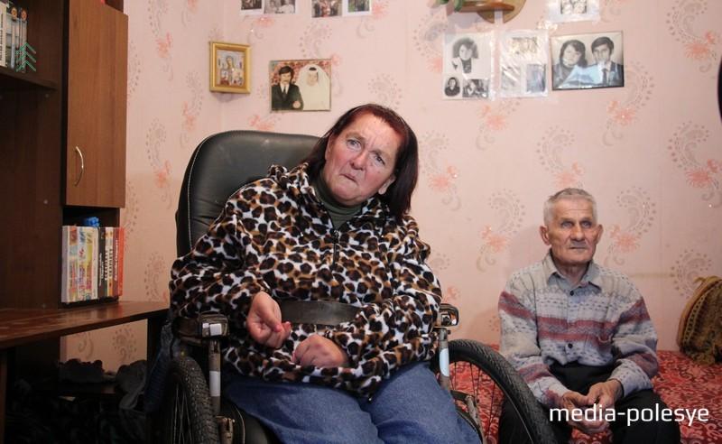 Татьяна Пронько с мужем Николаем