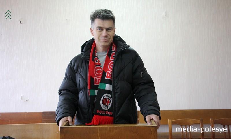 Андрей Вабищевич выиграл гражданский иск против Пинского ГОВД и Министерства финансов Беларуси