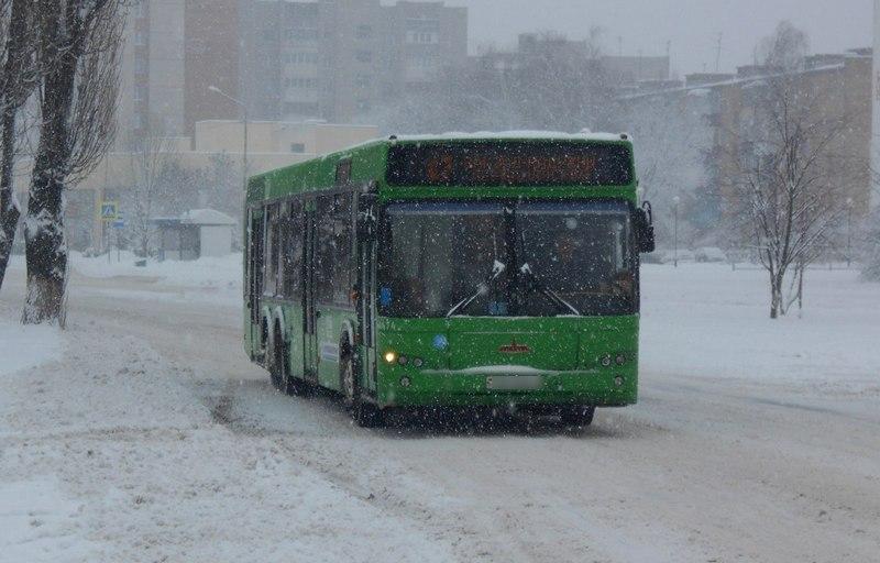 Открытки, картинки пинских городских автобусов