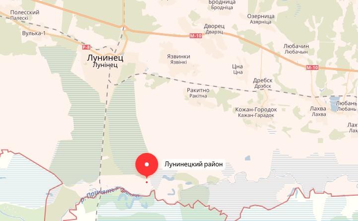 Место, где находился оставленный трактор, отмечено на карте. Использованы Яндекс.Карты