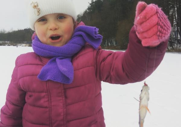 Первая рыбка
