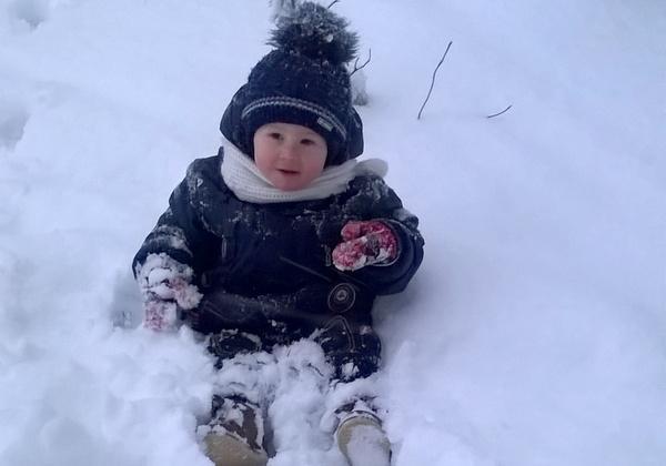 Мой первый снег