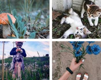 ТОП-10 снимков из Инстаграма, или Отображение связи прогресса с человеком