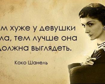 20 вдохновляющих цитат от неподражаемой Коко Шанель