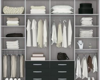 Наполнение шкафа купе – как сделать всё с умом и недорого