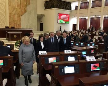 Пинских, столинского и лунинецкого  депутатов посадили на «галёрку»