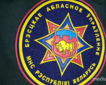 В Пинске спасли мужчину на пожаре