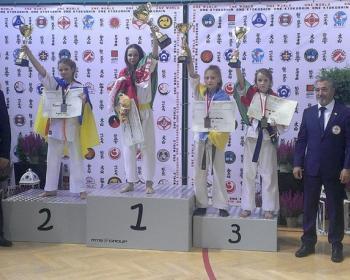 Настя Стасевич из Столина – чемпионка Европы по киокушин карате