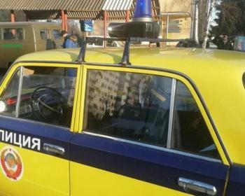 Легендарную «копейку» взяли в автопарк ГАИ?