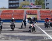 В Пинске стартовал мотобольный турнир