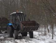 В «Симоновом лесу» задержали похитителей плодородного грунта